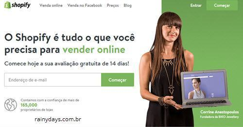 Excluir conta do Shopify