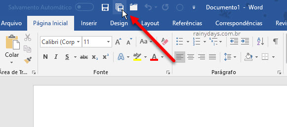 Fechar e salvar todos documentos abertos do Word, Excel e PowerPoint