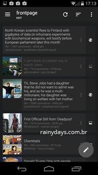 Melhores Clientes Reddit para Android