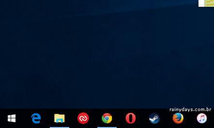 Remover campo de Busca da Barra de Tarefas Windows 10