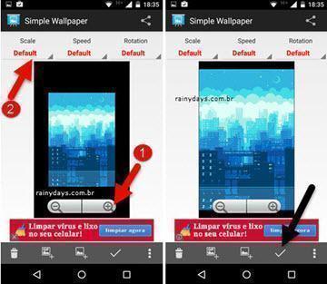 usar GIF como papel de parede no Android 3