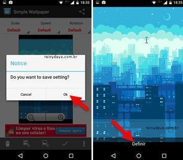 usar GIF como papel de parede no Android 4