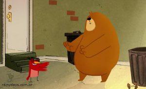 Curta de Animação Bear and Bird