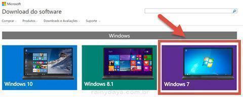criar um pen drive de instalação do Windows 7
