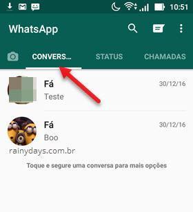 aba Conversas WhatsApp