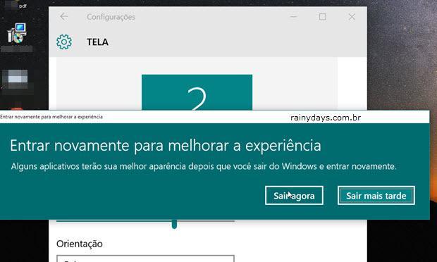 Aumentar Tamanho dos Ícones no Windows 10