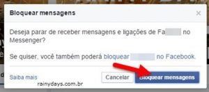 Como bloquear mensagens no bate-papo do Facebook