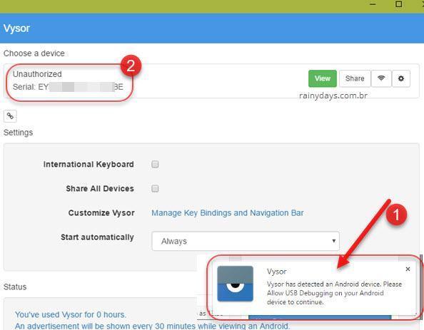 controlar Android pelo Chrome 2