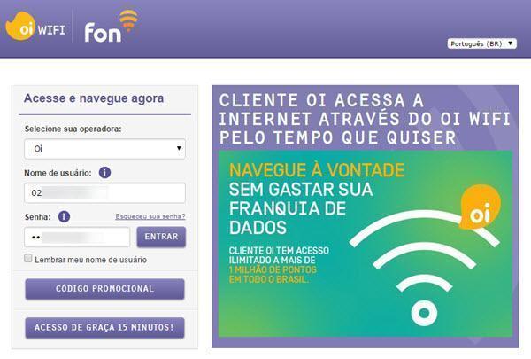 Como conectar e usar o Oi WiFi Fon