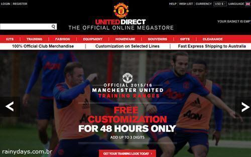 Excluir Conta da United Direct