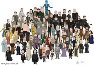 Personagens de Game of Thrones como Bob's Burgers