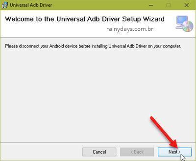 instalar ADB drivers para Vysor