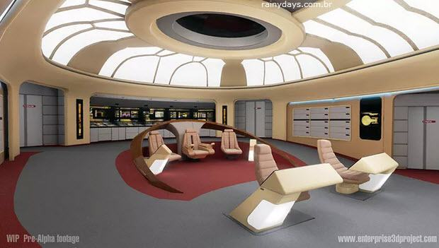 Tour Virtual pela USS Enterprise NCC-1701-D