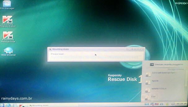 Usar pendrive de recuperação para limpar PC infectado 5