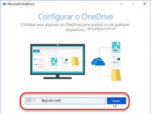 Mudar local de salvamento do OneDrive no Windows 10