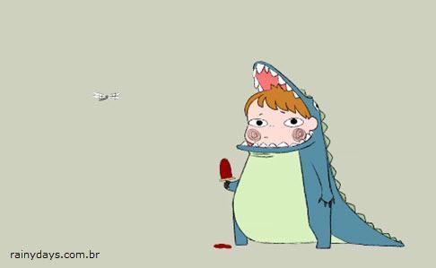 Curta de Animação Dinosaur