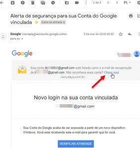 Remover meu email da conta Google de outra pessoa