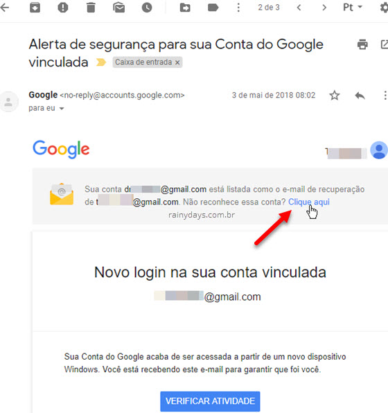 Desvincular conta do Google da conta de outra pessoa Gmail