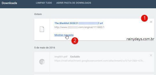 Mudar Local de Download do Chrome 4