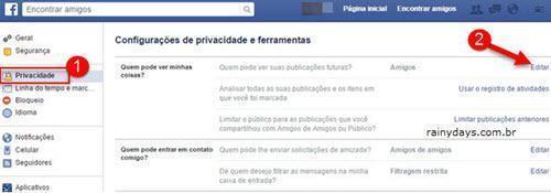 Verifique seus Posts do Facebook 3