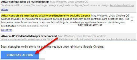 Tirar som de todas as abas do Chrome 2