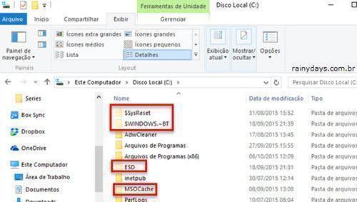 ver arquivos e pastas ocultas no Windows 3