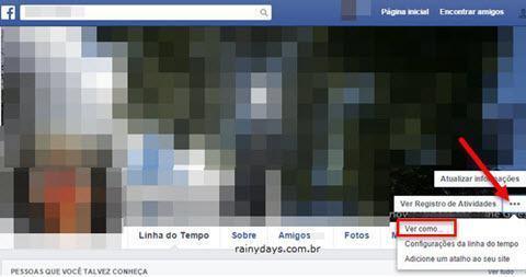 Verifique seus Posts do Facebook