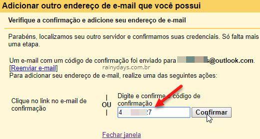 Adicionar endereços de email no Gmail