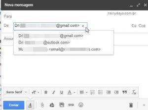 Como enviar emails de outros endereços pelo Gmail
