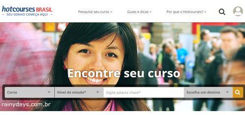 Excluir Conta do Hotcourses Brasil