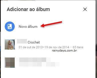 Compartilhar álbuns do Google Fotos 2