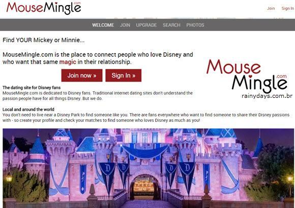 excluir conta do MouseMingle