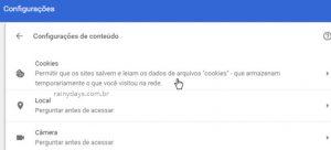 Como apagar cookies de sites específicos no Chrome