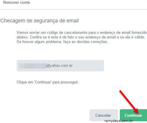 Checagem de segurança de email Flirt site
