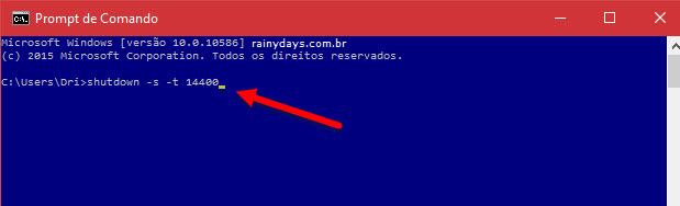 Desligamento automático do Windows 2