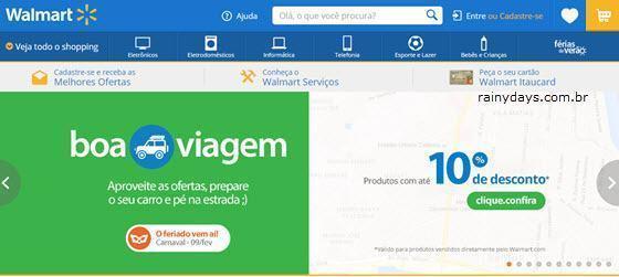 excluir conta do Walmart