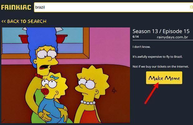 Busca por capturas de tela dos Simpsons 2