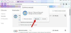 Desinstalar extensões nos navegadores Chrome, Firefox e outros