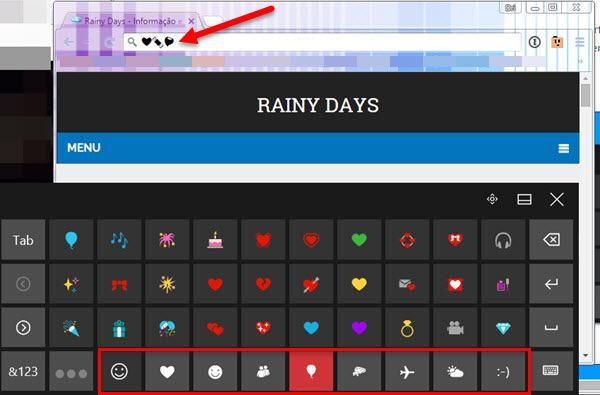 Digitar emojis em qualquer aplicativo do Windows 4