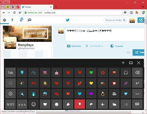 Digitar emojis em qualquer aplicativo do Windows 5