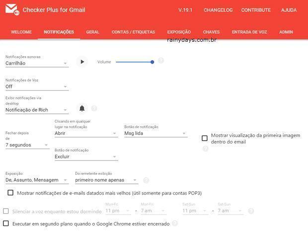 Gerenciar o Gmail pela barra do Chrome 6