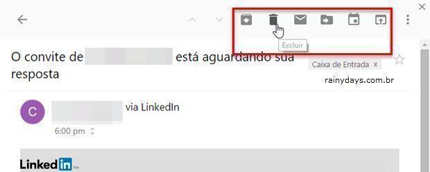 ler enviar email Gmail pela barra do Chrome