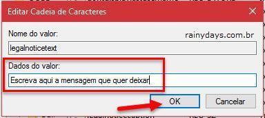 Mostrar mensagem na inicialização do Windows 10 (6)