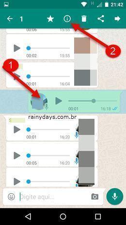 Saber quem leu mensagem em grupo no WhatsApp 3