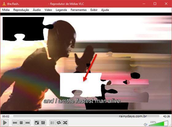 Transformar vídeo do VLC em quebra-cabeça 5