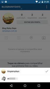 Usar várias contas no Instagram ao mesmo tempo
