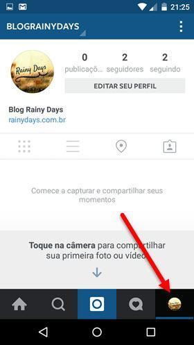 Usar várias contas no Instagram ao mesmo tempo 4