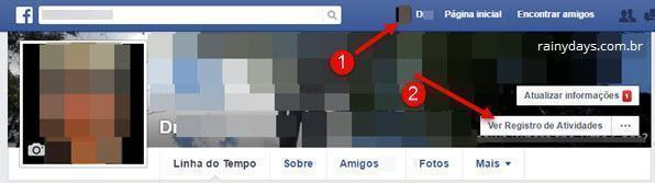 Adicionar amigos no Facebook sem outros saberem