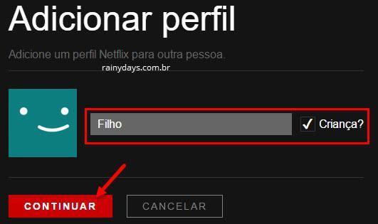 configurar controle dos pais no Netflix 7