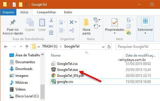 Criar lista de contatos do Google em HTML 4